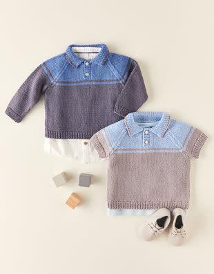 Sirdar Sirdar 5358 Baby Polo Pullover