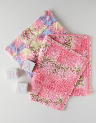 Sirdar Sirdar 5355 Baby Blossom Blanket Mitered Squares