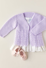 Sirdar Sirdar 5344 Crochet Lacy Girl Cardigan