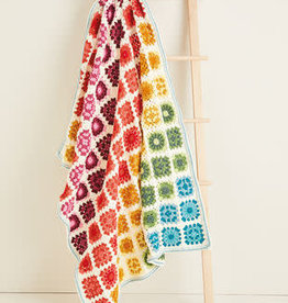 Sirdar Sirdar 10119 Crochet Granny Square Blanket