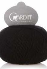 Cardiff Cashmere Cardiff Cashmere 516 BLACK SMALL FINGERING