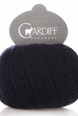 Cardiff Cashmere Cardiff Cashmere 647 NAVY SMALL FINGERING