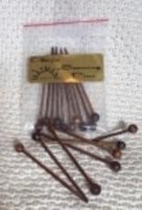 Bryson Bryson Seaming Pins Set of 10 Albizia Wood