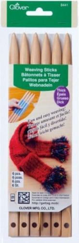 Clover Clover 8441 Weaving Sticks Thick