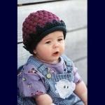 FiberTrends FiberTrends Berry Cute Hat CH 09