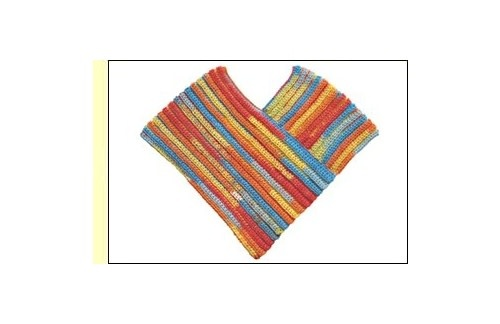 Dovetail Designs Childs Crochet Poncho