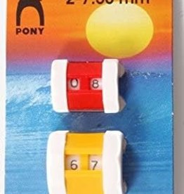 PONY Row Counter 2 pack Pony 60603