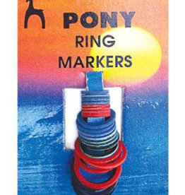 PONY Flat Ring Stitch Markers 24 pack Pony 60626