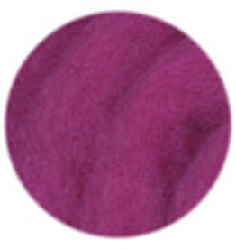 Kraemer Mauch Chunky Roving sold per OZ 1014 RASPBERRY
