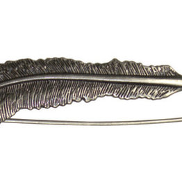 HiyaHiya Hiya Antique Feather Shawl Pin
