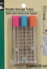 Dritz Dritz Needle Storage Tubes 3 pack