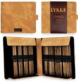 """LYKKECRAFTS Lykke UMBER 6"""" Double Point Needle Set US 6-13"""