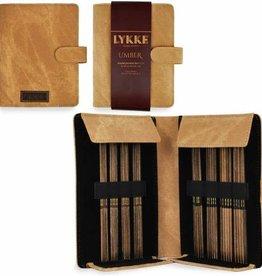 "LYKKECRAFTS Lykke UMBER 6"" Double Point Needle Small Set US 0 - 5"