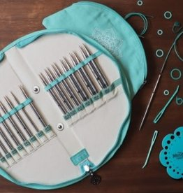 "knitters pride Mindful Gratitude Interchangeable Needle Set 5"" tips US 2.5 - 17"