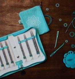 "knitters pride Mindful Believe Interchangeable Needle Set 5"" tips US 2.5 - 8"