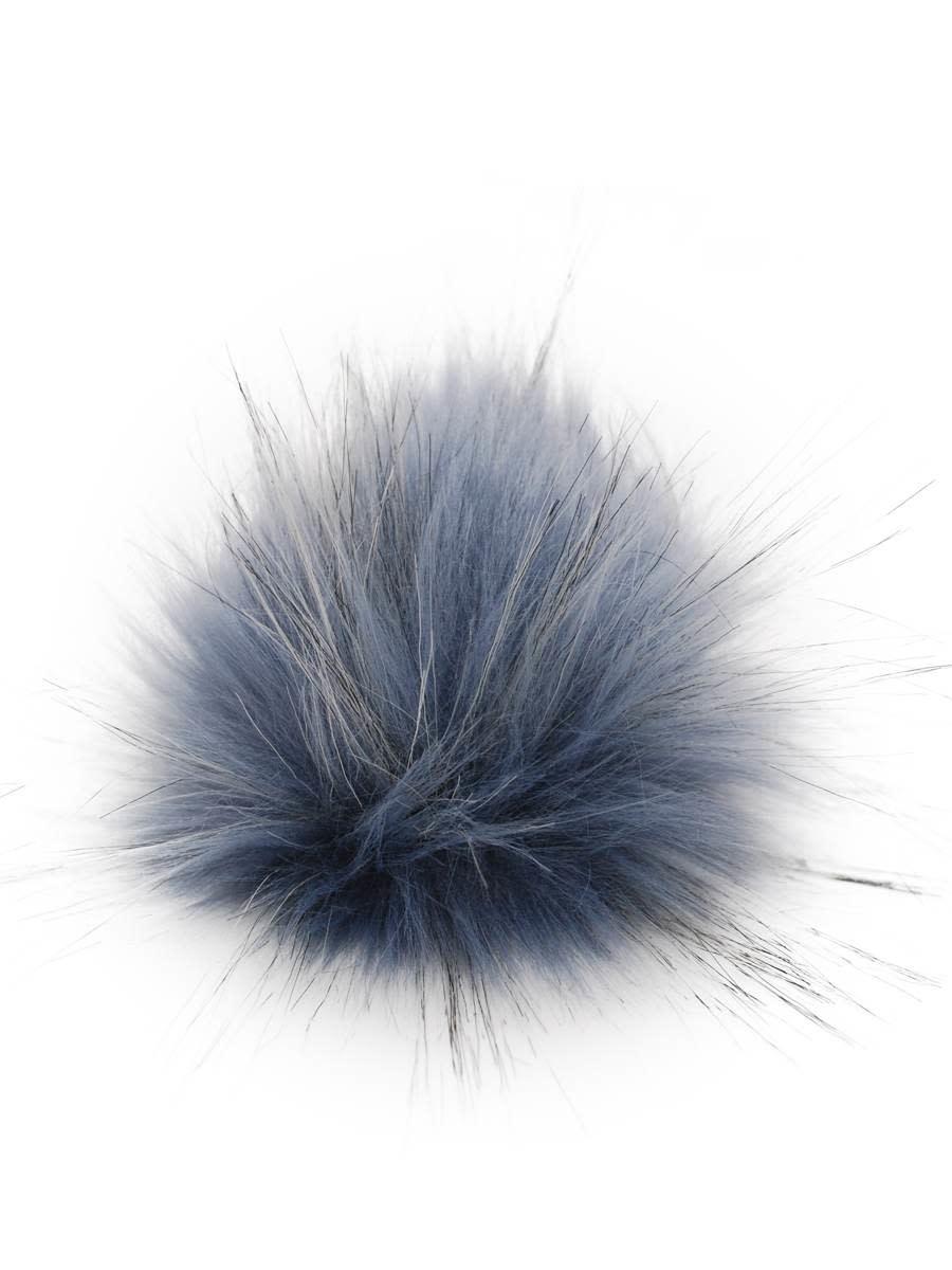 Knitting Fever KFI Furreal Pom Pom 20 BLUE BUDGERIGAR