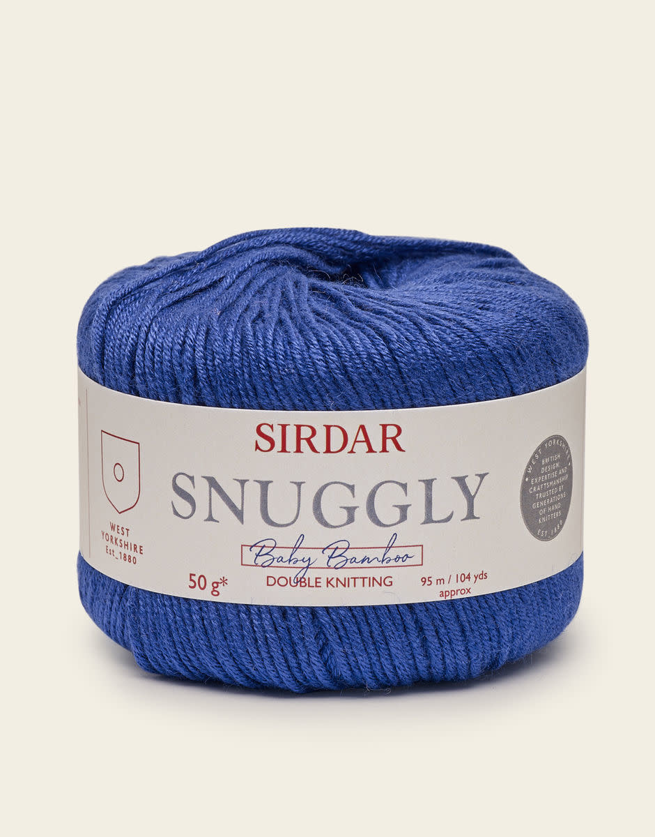 Sirdar Snuggly Baby Bamboo 87 BLUE JAY