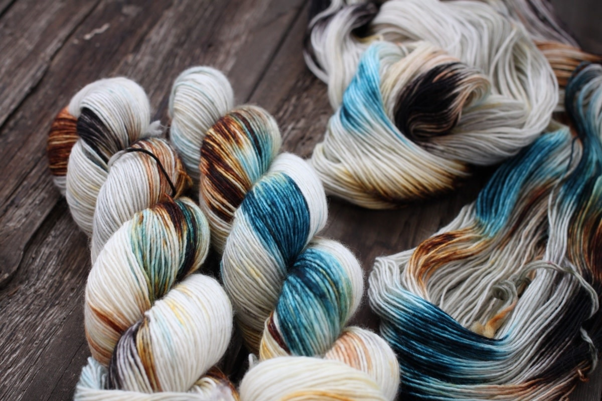 Dream In Color Dream Smooshy Sock  BURR 915