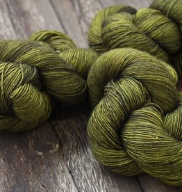 Dream In Color Dream Smooshy Sock  SCORCHED LIME 028