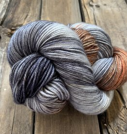 Dream In Color Dream Smooshy Sock LEATHER WAVE 929
