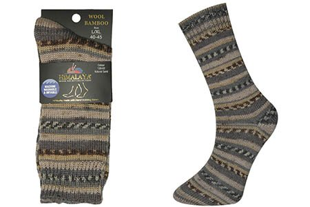 Universal Yarn Himalaya Wool Bamboo Socks