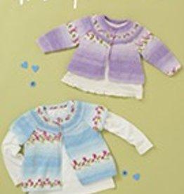 Hayfield 4843 Baby Blossom DK Cardigan