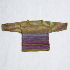 Classic Elite Classic Elite Angel Baby Sweater in Liberty Wool Light