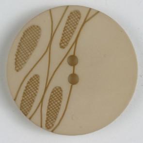 Dill Buttons 330736 Beige Wheat Stalk 20 mm