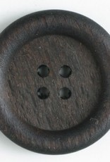 Dill Buttons 260923 Wood 4 HOLE button 23 mm