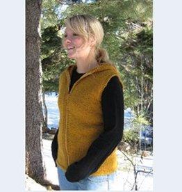 Bulky Hooded Vest Women KPS-272