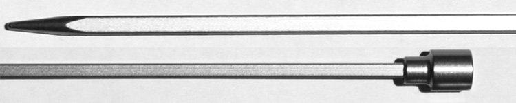 "Louet Kollage Square 10"" Single Point Needles"