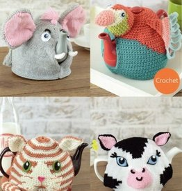Sirdar 7764 Sirdar Animal Tea Pot Cozies