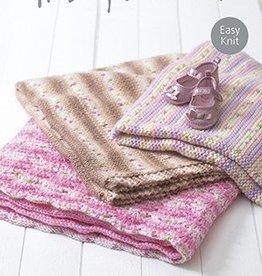 Hayfield 4676 Baby Blossom Chunky Blanket