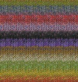 Noro Noro Silk Garden 424 OLIVE RED PURPLE