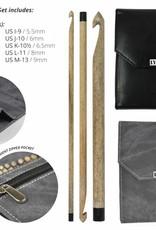 """LYKKECRAFTS Lykke Driftwood 6"""" CROCHET HOOK 12.75 mm Q 17"""