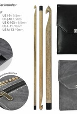 "LYKKECRAFTS Lykke Driftwood 6"" CROCHET HOOK 3.5 mm E"