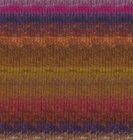 Noro Noro Silk Garden Sock 423 BROWN MAGENTA PURPLE