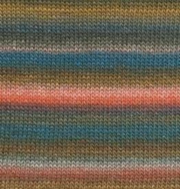 Lang Lang Mille Colori Baby Luxe 981-53 Teal Coral Bronze