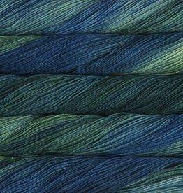 Malabrigo Yarn Malabrigo Sock 809 SOLIS DARK GREEN BLUE
