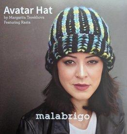 Malabrigo Yarn Avatar Brioche Hat by Malabrigo
