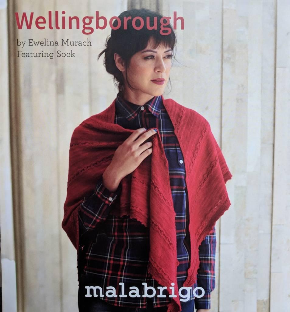 Malabrigo Yarn Wellingborough Shawl by Malabrigo