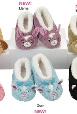 Snoozies Snoozie Slippers Toddler Animal Size L (9/10)