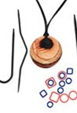 knitters pride Knitters Pride 2610 Magnetic Necklace Kit in Cherry