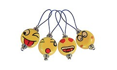 knitters pride Knitters Pride 8381 Zooni Stitch Markers Smileys