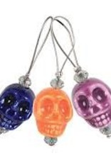 knitters pride Knitters Pride 8383 Zooni Stitch Markers Skull Candy