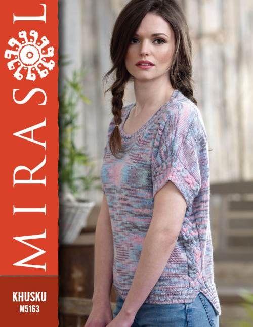Mirasol Mirasol T Shirt with Cables M5163 using Khusku