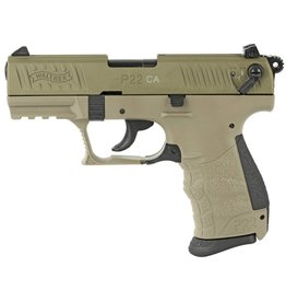 "WALTHER WALTHER P22 FDE .22LR 3.4"" 1 10 ROUND"