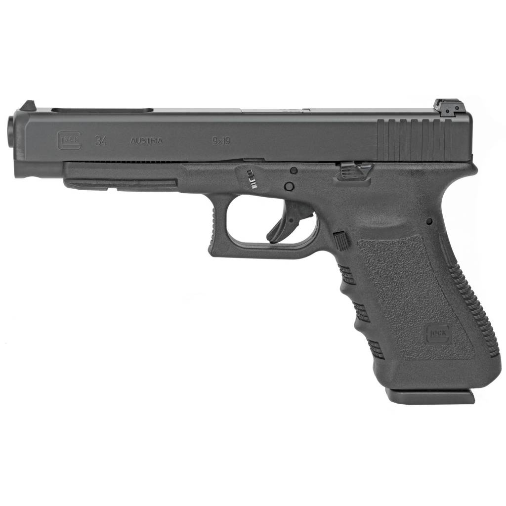 """GLOCK GLOCK 34 GEN 3 9MM 5"""" 10 RD MAGS  COMPETITION"""