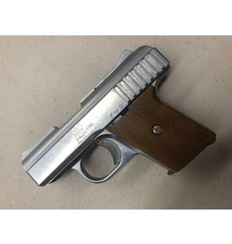 "CONSIGNMENT RAVEN ARMS  P25 .25CAL 2.5:"" BARREL ONE MAGAZINE CHROME FINISH"