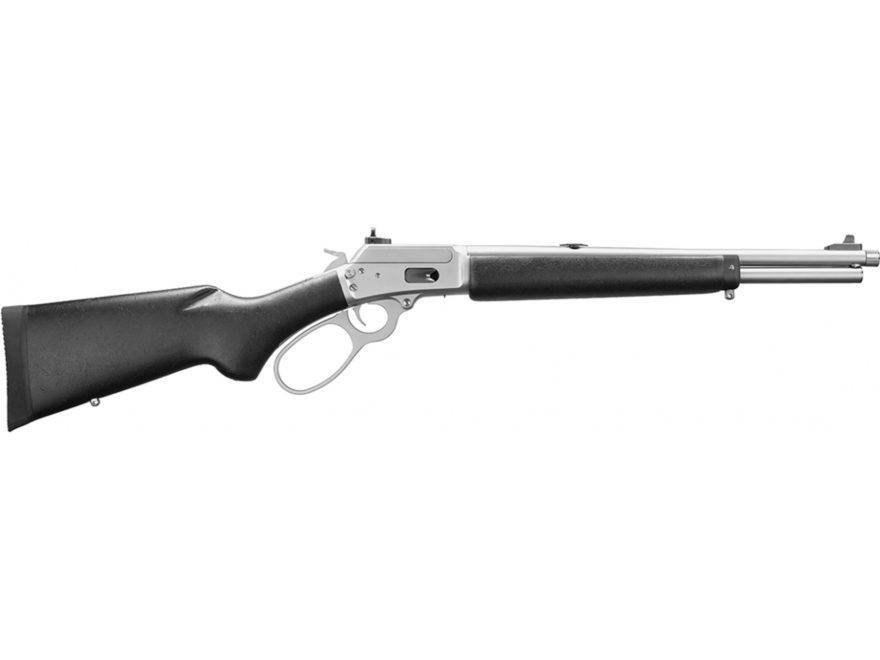 MARLIN MARLIN 1894 CST .357 16.5 STAINLESS STEEL & BLACK WITH THREADED BARREL
